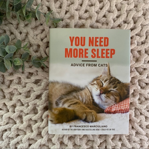 You Need More Sleep Other - You Need More Sleep - Advice From Cats Book
